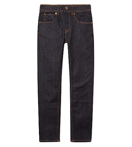 BURBERRY Skinny fit jeans 4-14 years (Indigo