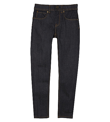 BURBERRY Denim skinny jeans 4-14 years (Dark+indigo