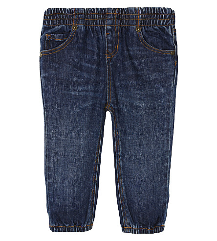 BURBERRY Eloise denim jeggings 6-36 months (Indigo