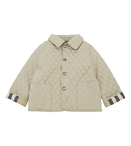 BURBERRY 科林绗缝夹克3-24 月 (水貂