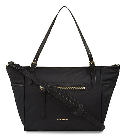 BURBERRY Nylon changing bag (Black