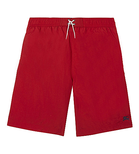 BURBERRY Galvin swim shorts 6 months-3 years (Militaryred