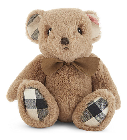 BURBERRY House check Thomas bear (Camel