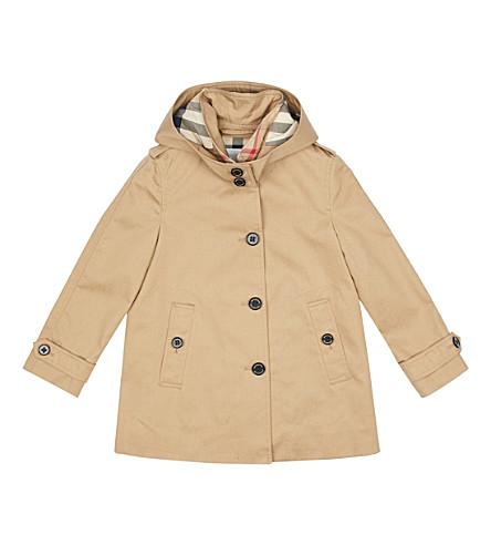 BURBERRY Geri trench coat (Honey