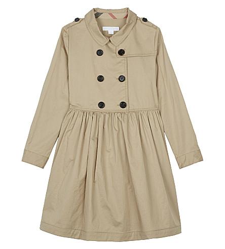 BURBERRY Lillyana cotton dress 4-14 years (Honey