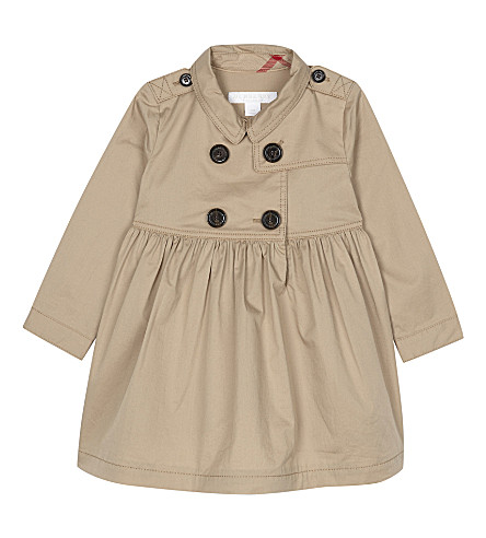 BURBERRY Lilybeth cotton dress 6-36 months (Honey