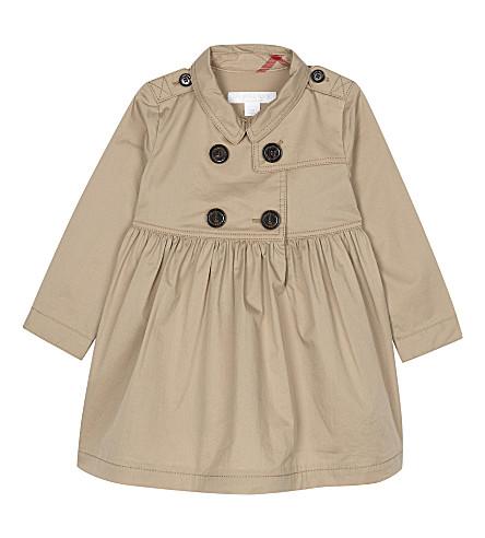 BURBERRY Lilybeth cotton dress 6-36 months (Honey