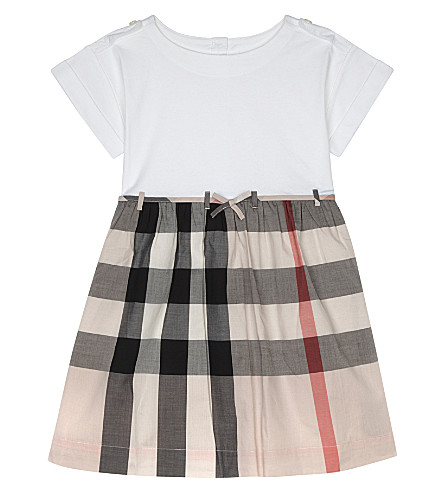 BURBERRY Rhonda cotton dress 4-14 years (Vintage+pink