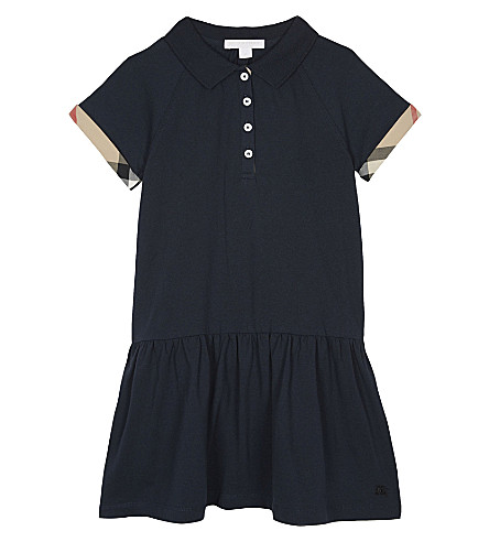 BURBERRY House check dress 4-14 years (Navy