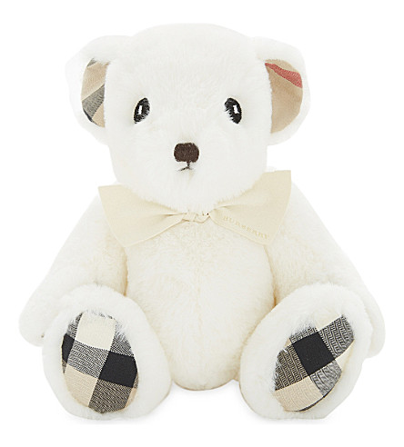BURBERRY Plush teddy bear (White