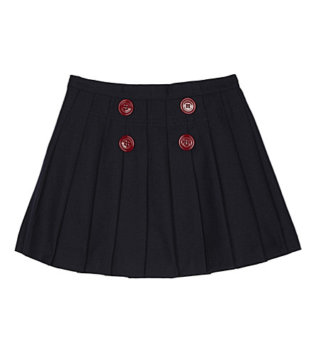 BURBERRY Florianne wool skirt 4-14 years (Navy