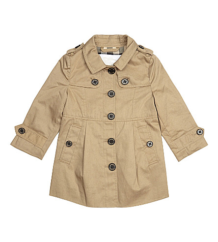 BURBERRY Sophia trench coat 6 months - 4 years (Honey