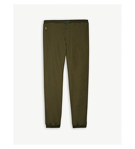 BURBERRY Cerwyn cargo cotton trousers 4-14 years (Caper+green