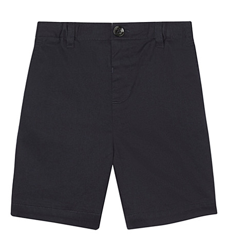 BURBERRY Sean cotton shorts 6-36 months (Ink