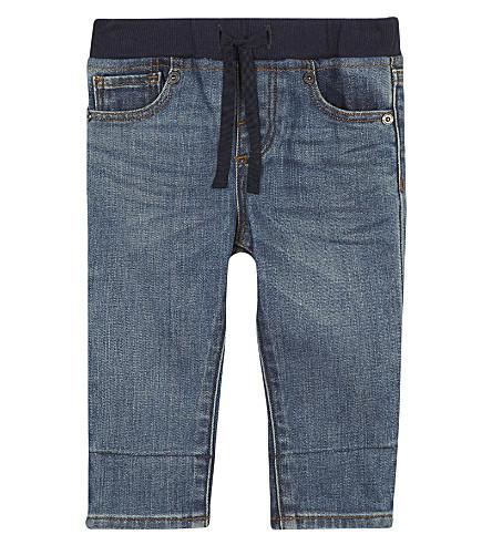 BURBERRY Logo jeans 6-36 months (Mid+indigo