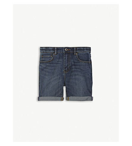 BURBERRY Bronson denim shorts 4-14 years (Mid+indigo
