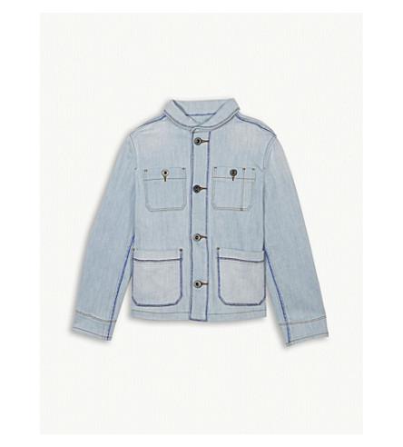 BURBERRY Baird denim jacket 6-10 years (Light+blue