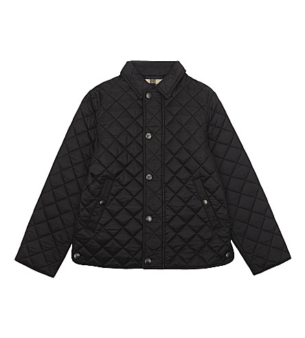 BURBERRY Luke quilted jacket 4-14 years (Black