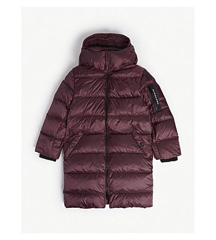 BURBERRY Puffer jacket (4-14) (Beetroot