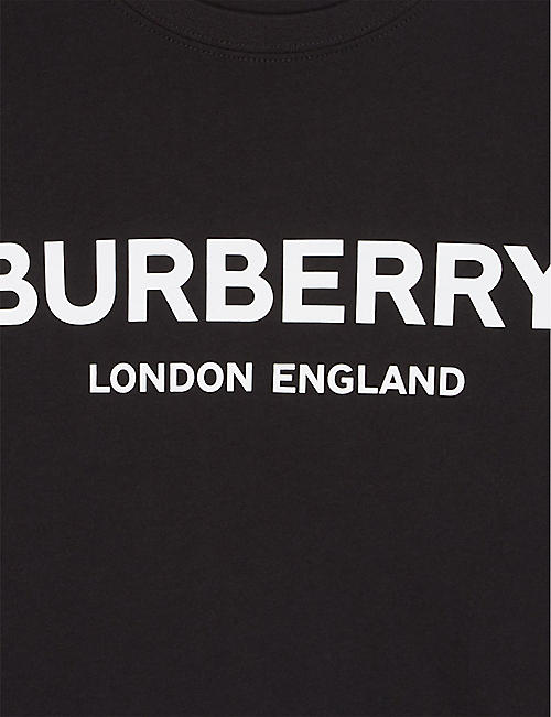 BURBERRY Robbie branded cotton T-shirt 3-14 years