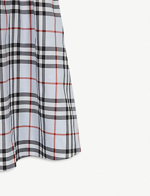 BURBERRY Joyce checked cotton dress 3-14 years