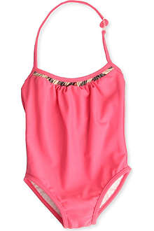 BURBERRY Halterneck swimsuit 3 months-3 years