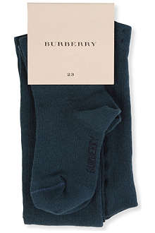 BURBERRY Bow detail tights