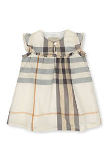 BURBERRY Checked dress 3 months-3 years