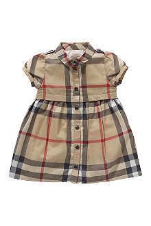 BURBERRY Checked shirt dress 3 months - 3 years