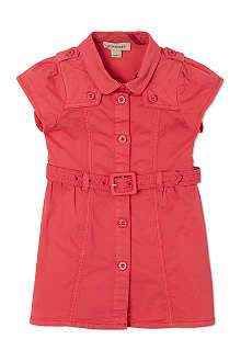 BURBERRY Belted trench dress 6-36 months