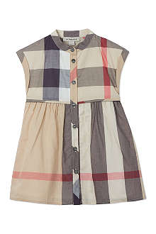 BURBERRY Exploded Nova shirt dress 6-36 months