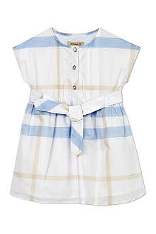 BURBERRY Check shirt dress 4-14 years
