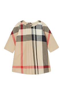 BURBERRY Quad check swing dress 3-36 months