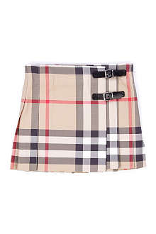BURBERRY Checked kilt 3 months-3 years
