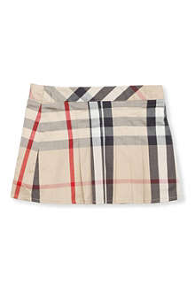 BURBERRY Check skirt 3 months - 3 years