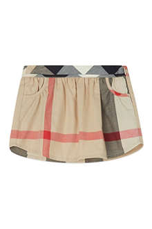 BURBERRY Check skirt 3months-3years
