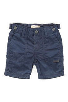 BURBERRY Combat cotton shorts 3 months-3 years
