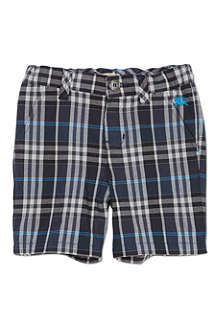 BURBERRY Checked shorts 6-36 months