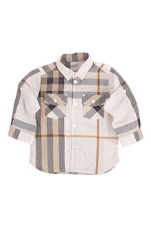 BURBERRY Checked shirt 3 months-3 years