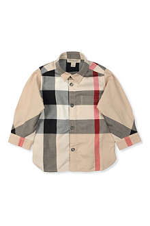 BURBERRY Nova check shirt 3 months-3 years