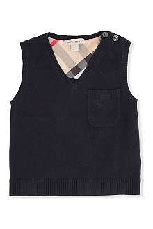 BURBERRY Knitted vest 3 months-3 years