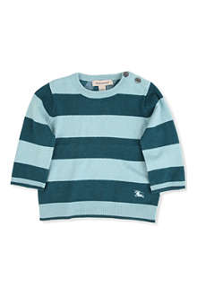 BURBERRY Striped jumper 3 months-3 years
