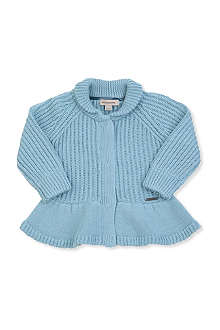 BURBERRY Frilly cardigan 3 months-3 years