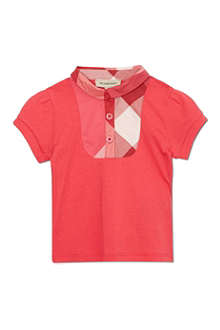 BURBERRY Nova bib polo shirt 6-36 months