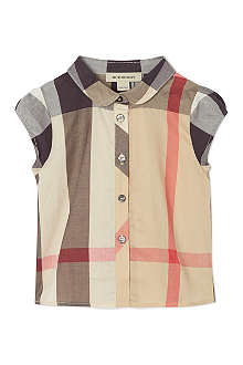BURBERRY Nova check shirt 3-36 months