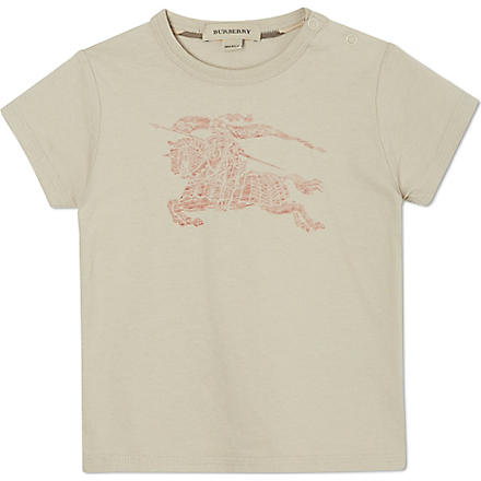 BURBERRY Faded logo t-shirt 6-36 months (Trench