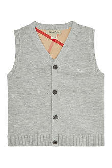 BURBERRY Knitted vest 6 months-3 years