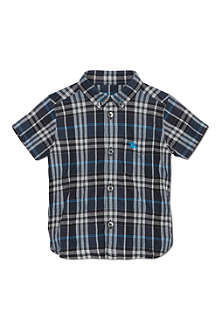BURBERRY Small checked shirt 6-36 months