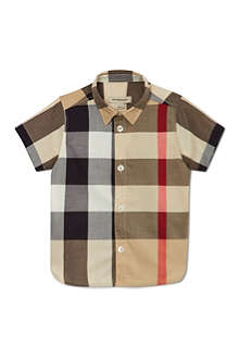 BURBERRY Nova check shirt 6 months-3 years