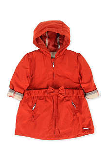 BURBERRY Hooded parka jacket 3 months-3 years